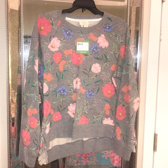 d1d956da515 Kate Spade blossom crop pullover 🌼